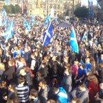 RT @PaddyGordon: George square right now #independenceforScotland #indyref #indy #indiref #scotland #glasgow http://t.co/MvvbvO7Syp