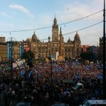 RT @15MBcn_int: George Square a short while ago as Yes supporters rally #Scotland #indyref p/v @clummf http://t.co/WT5V7xcPut