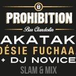 @ninakibuanda ce soir au bar Prohibition à #Nantes pour le retour du Takataka Poesie Fuschaaaa #slam & #mix #gratuit http://t.co/KNSN04FpkM
