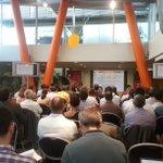 60 personnes présentes ce soir au forum #AMOA - #NantesDigitalWeek http://t.co/3uKEKYowN7