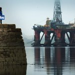 Heres Mr Murdo Macleods eve of referendum photograph for @guardian, taken on the Cromarty Firth.... #indyref http://t.co/QIOYOeUL4m