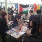 RT @SouthernSP: @Socialism2014 selling tickets at #Portsmouth Uni Freshers Fair #socialiststudents http://t.co/hmI9sq26sz