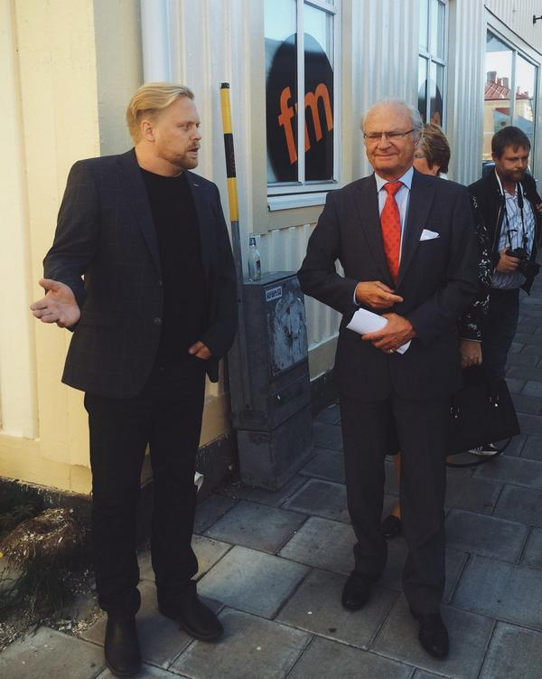The King of Sweden has arrived! http://t.co/oTDyRiclIY