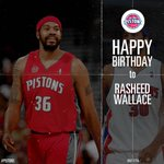 #Pistons fans, lets wish a Happy Birthday to Rasheed Wallace! #BallDontLie http://t.co/NiNRiDjBLJ