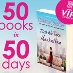 RT @ClothesShow: To celebrate our First We Take Manhattan comp, were giving away 50 copies! RT for a chance to #win! #50books50days http://t.co/GCbq4RTzWz