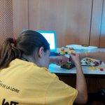 Suite de la session #Devoxx4Kids avec Lego Wedo & Mindstorm #NantesDigitalWeek http://t.co/xbturlDHt0