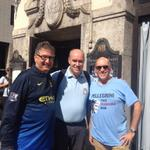 Mixing with #mcfc fans in Munich a little earlier, more pics & a Mike Summerbee video on @BBCBlueTuesday Facebook http://t.co/QRQegYtVhw