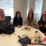 Origami hats - a fashion trend worthy of Milan Fashion Week? Made & modelled by PVD Freshers @UniOfSunADM #libwelcome http://t.co/VdmRjD6mte