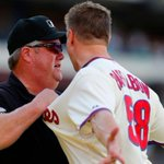 RT @SportsCenter: MLB suspends umpire Joe West one game without pay for grabbing Jonathan Papelbons jersey during altercation Sunday. http://t.co/62sq2abMPx