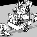 Miércoles. Gráfica de La Prensa. A trabajar contribuyentes que el Estado necesita d sus impuestos para tanto subsidio http://t.co/TXPWugfAPU