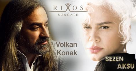 Rixos Sungate Hotel'de Sezen Aksu ve Volkan Konak ile unutulmaz bir bayrama hazır olun! http://t.co/kDN5qx5zck http://t.co/P1VaCNNlDg