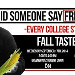 RT @ASUN_UNL: Hungry?? Remember the FREE Taste of UNL event today from 2-4pm on the Union GreenSpace put on by the @DailyNeb #UNL http://t.co/B6BovDMKwW