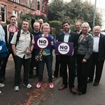 Great response for #nothanks on doorsteps of Auldhouse & Newlands, Glasgow. Proud Scots voting for union #indyref http://t.co/EplzG5CXgM