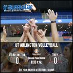 RT @UTAMAVS: VB: Be at College Park Center Friday as UTA opens its @SunBelt home schedule vs. Troy at 6:30 p.m. #iBleedBlue http://t.co/PFYHM2eBLz
