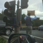 """So thats it. Two guys in ties on Sand Hill Road with """"Need Funding"""" signs. Time to close shop, burn it all down. http://t.co/tp9K1U3diz"""