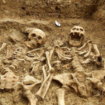 """""""@BuzzFeed: a couple holding hands for 700 years http://t.co/aMrDfnVSK8 http://t.co/yuRTlLeujr"""" THIS is what forever means ❤️ haha"""