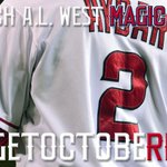 RT @Angels: Magic Number = 2. #GetOctobeRED #WeWantTheWest #Postseason http://t.co/ExMwHyHzdT