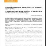 POLÉMICA- La Asociación Internacional de Tauromaquia, sobre la postura de @sanchezcastejon http://t.co/BbdTyfsxi1 http://t.co/GoGzdHAOgW