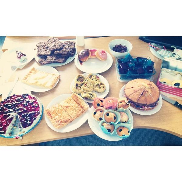 Moreover's London office raised £72 for Jeans for Genes on Friday with their bake-off! http://t.co/x1YFJjOA0i