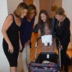 RT @hodakotb: Baby vale and mama @SavannahGuthrie #bestday @JennaBushHager @MeganKToday http://t.co/l1DCVxI8pp