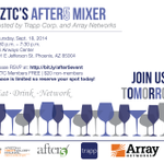 Hey #Phoenix! Join US at @USAirwaysCenter TOMORROW for an evening of networking + cocktails! http://t.co/2mY8i8jqae http://t.co/O2EszUDzt5