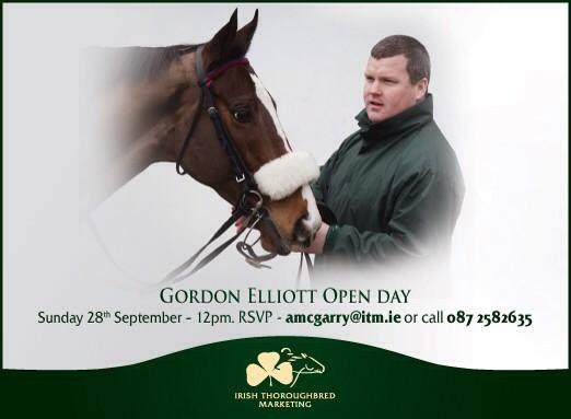 Gordon Elliott Open Day - RSVP required but all welcome - retweets appreciated! http://t.co/sMaWxkZs6a