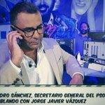 RT @el_pais: Pedro Sánchez se asoma a la televisión de entretenimiento http://t.co/ybfIcJgqeh Hoy, en Sálvame y El Hormiguero http://t.co/hygVci87Up