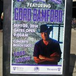 "RT @gordbamford: ""@Justine2726: Ok so THIS is going to be freakin awesome!!! @gordbamford @westernu #THISWEEKEND http://t.co/kSU1yLKmus"" It sure is."