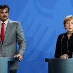 الامير والمستشارة ميركل يبحثان سبل تعزيز العلاقات بين #قطر و #المانيا اضافة الى التطورات الامنية بالمنطقة .. http://t.co/VLyLYkwwNd
