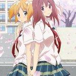 【RT53FA0】RT anime_taizen: 【桜Trick】・2014年・廃校を三年後に控えた高校に通う春香と優