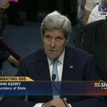 Secretary @JohnKerry testifies on Combating #ISIS – LIVE on C-SPAN3 http://t.co/1NSbpY9SPS http://t.co/lvRVmo2cNY