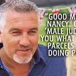 Nancy goes to Hollywood… #GBBO #MaleJudge http://t.co/CrCWwr7FxV