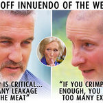 RT @BBCOne: Take a deep breath. Here's our #BakeOffInnuendo Of The Week… #GBBO #Crimping http://t.co/qnSJ4X5wqC