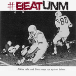 """Rivalry Retrospect: In 1959, Pervis """"Afterburner"""" Atkins & the Aggies roll UNM en route to the Sun Bowl. #BeatUNM http://t.co/131fRqlL9Z"""