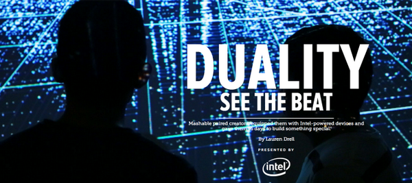 Firstborn's finest creating for @intel on @mashable  See the beat: http://t.co/MK7EzquBLN http://t.co/ed91anXx3f