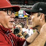 RT @49ers: Cardinals coach Bruce Arians referenced #49ersInvasion during his conference call. LISTEN: http://t.co/lcDWfDYvWs http://t.co/fVJTdiqLov