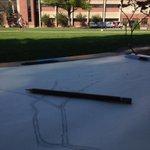 RT @KevinBugs: Doing some drawing on campus for class. #Art #UNL #UNLarts @UNLincoln @UNLArts #UNL24 http://t.co/z0VeflhbtY