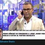 Pedro Sánchez busca votos entre el público de Sálvame y de El Hormiguero http://t.co/DIuQbrEHoD http://t.co/65e8l0mHrc