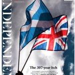 RT @andresazocar: Las portadas de The Independent y el Guardian por referéndum en Escocia. http://t.co/9RSVefjTST