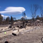 RT @CWoodwardPhotog: @ActionNewsNow Oak Street destruction in Angel Valley today. #BolesFire http://t.co/282lCdFPtm