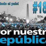 RT @vivirsinCFK_ya: #18SArgentinazo y #YoVoy Nos subestiman Nos patotean Nos boludean Nos manipulan la vida Nos chorean ... NO FALTES !! http://t.co/715d1YYVuM