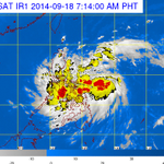 PAGASA: Mario has intensified from a tropical depression into a tropical storm #MarioPH http://t.co/w8tv7VGlN9