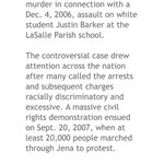RT @FieryNupes: For those that dont know what Jena 6. This is a clip of a article written a few years ago. #ITooSingAmerika http://t.co/y1Ao1NGDpK