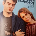 Just saw The Skeleton Twins. One of my favorite movies in years. Brilliant Bill Hadar & Kristen Wiig. Go see it!