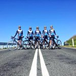 RT @Laurameadley: Quick photos op with the @canberratimes for our @SuzukiCycling team before the@NatCapTour #cbr http://t.co/lBIz5EeTiR