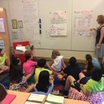 RT @int_educator: Mrs. Blase helps grade five students with a lesson on regular, past tense verbs #sisrocks #sis_eal http://t.co/wqY5Y3GbeY