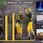 How loud does #BisonNation get in the Fargodome? #JetEngine #train #ThunderStorm Bring the NOISE on Saturday! http://t.co/Zsyi7dvgsZ