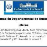 """""""@siglo21gt: Puntos de caminata prevista para mañana en la ciudad capital #tráficoGT http://t.co/MI5IMpgFpq"""" a madrugar ????"""