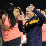 RT @MarquetteU: Thats @PresLovell doing the Wobble with @MUCobeenHall at the @marquettesoccer game. #OurPresidentNeverRests http://t.co/UICFL4MAB8