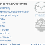 RT @trendinaliaGT: Titiman acaba de convertirse en TT ocupando la 5ª posición en Guatemala. Más en http://t.co/2CJZEbHiZV #trndnl http://t.co/uNOIGtxdGo